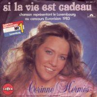 Cover Corinne Hermès - Si la vie est cadeau