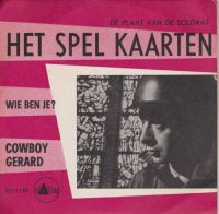 Cover Cowboy Gerard - Het spel kaarten