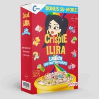 Cover Crispie & Ilira - Ladida (My Heart Goes Boom)