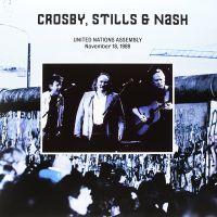 Cover Crosby, Stills & Nash - United Nations Assembly - November 18, 1989