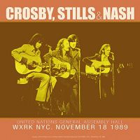 Cover Crosby, Stills & Nash - WXRK NYC. November 18 1989