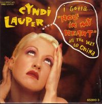 Cover Cyndi Lauper - Hole In My Heart (All The Way To China)