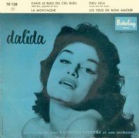 Cover Dalida - Dans le bleu du ciel bleu