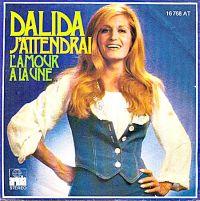 Cover Dalida - J'attendrai