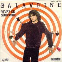 Cover Daniel Balavoine - Vivre ou survivre