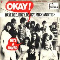 Cover Dave Dee, Dozy, Beaky, Mick & Tich - Okay!