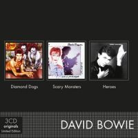 Cover David Bowie - Diamond Dogs / Scary Monsters / Heroes