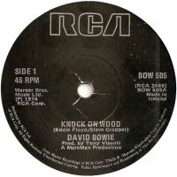 Cover David Bowie - Knock On Wood