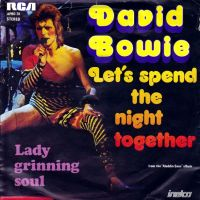 Cover David Bowie - Let's Spend The Night Together