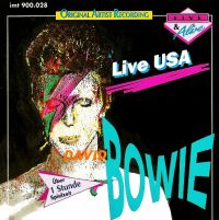 Cover David Bowie - Live USA