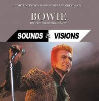 Cover David Bowie - Sounds & Visions - The Legendary Broadcasts