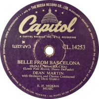 Cover Dean Martin - Belle From Barcelona