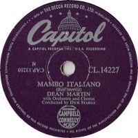 Cover Dean Martin - Mambo Italiano