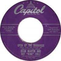 "Cover Dean Martin & Nat ""King"" Cole - Open Up The Doghouse"