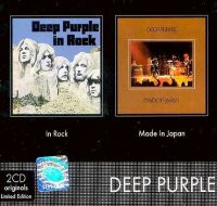 Cover Deep Purple - In Rock / Made In Japan