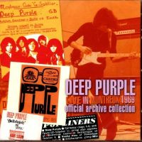 Cover Deep Purple - Live In Montreux 1969 - Official Archive Collection