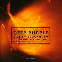 Cover Deep Purple - Live In Stockholm 1970