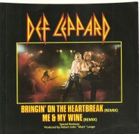 Cover Def Leppard - Bringin' On The Heartbreak