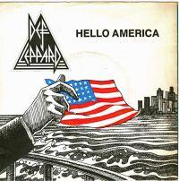 Cover Def Leppard - Hello America