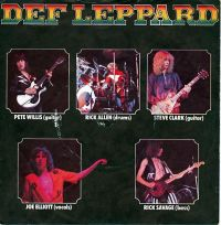 Cover Def Leppard - Wasted