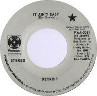 Cover Detroit - It Ain't Easy