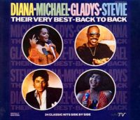 Cover Diana - Michael - Gladys - Stevie - Their Very Best - Back To Back