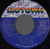 Cover Diana Ross - Cryin' My Heart Out For You