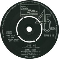 Cover Diana Ross - Love Me