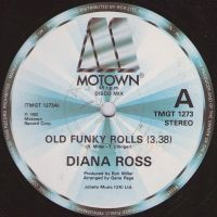 Cover Diana Ross - Old Funky Rolls