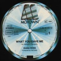 Cover Diana Ross - What You Gave Me