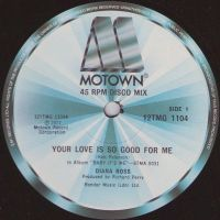 Cover Diana Ross - Your Love Is So Good For Me