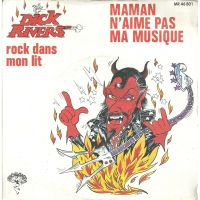 Cover Dick Rivers - Maman n'aime pas ma musique