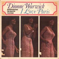 Cover Dionne Warwick - I Love Paris