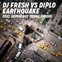 Cover DJ Fresh vs. Diplo feat. Dominique Young Unique - Earthquake