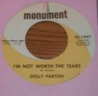 Cover Dolly Parton - I'm Not Worth The Tears