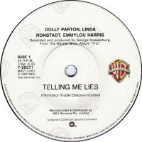 Cover Dolly Parton, Linda Ronstadt & Emmylou Harris - Telling Me Lies