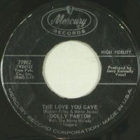 Cover Dolly Parton with the Merry Melody Singers - The Love You Gave