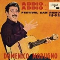 Cover Domenico Modugno - Addio... addio...