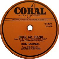 Cover Don Cornell - Hold My Hand