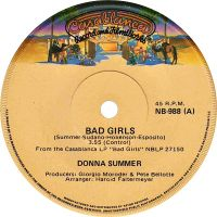 Cover Donna Summer - Bad Girls