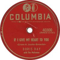 Cover Doris Day - If I Give My Heart To You
