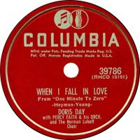 Cover Doris Day With Percy Faith & His Orchestra & The Norman Luboff Choir - When I Fall In Love