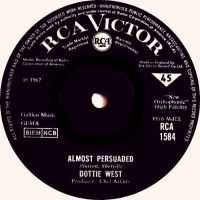 Cover Dottie West - Almost Persuaded
