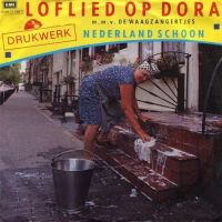 Cover Drukwerk m.m.v. De Waagzangertjes - Loflied op Dora