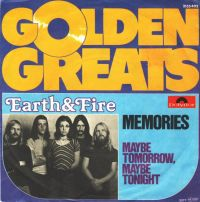Cover Earth & Fire - Memories