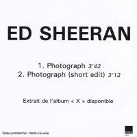 Cover Ed Sheeran - Photograph