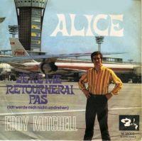 Cover Eddy Mitchell - Alice