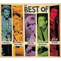 Cover Eddy Mitchell / Johnny Hallyday / Sylvie Vartan / Richard Anthony / Dick Rivers - Best of des légendes yéyés