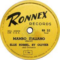 Cover Ellie Russell - Mambo Italiano