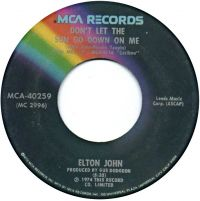 Cover Elton John - Don't Let The Sun Go Down On Me